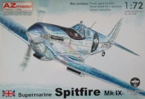 AZM7634 1/72 Supermarine Spitfire Mk.IX 'Longest Flight'